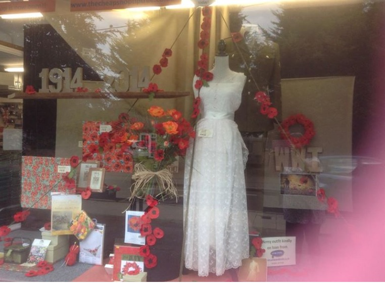 Cheap Shop Window for Tiptree Remembers