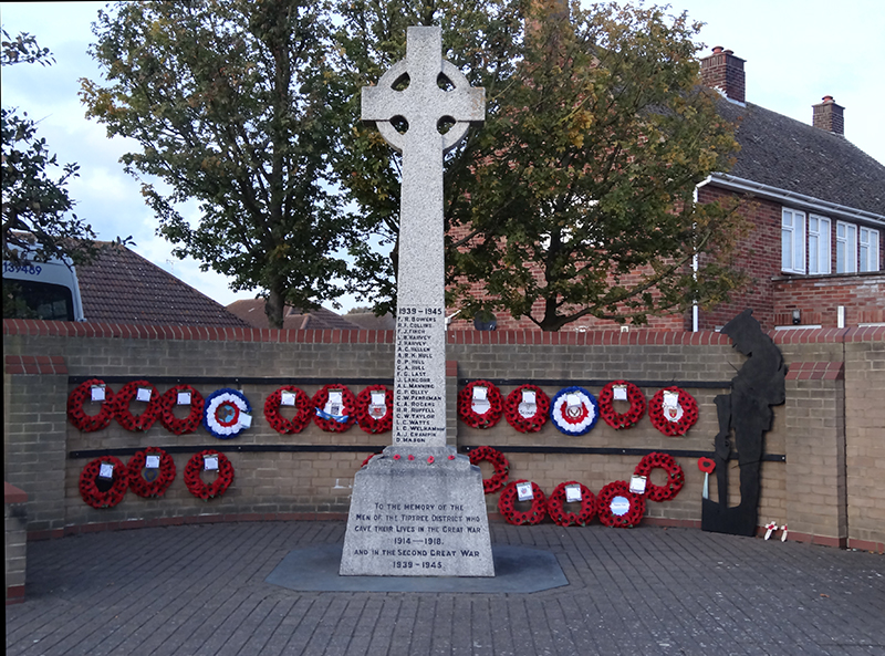 A Picture of Tiptree War Memorial